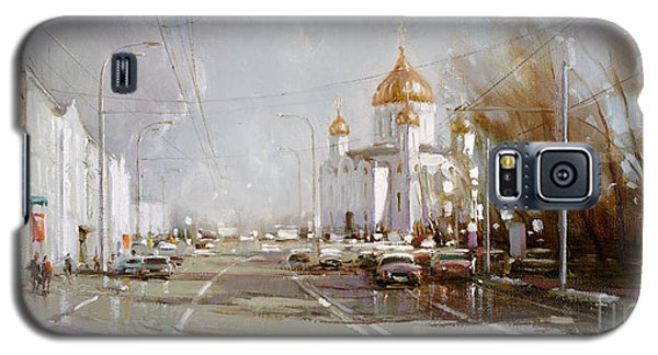 Moscow. Cathedral Of Christ The Savior Galaxy S5 Case by Ramil Gappasov
