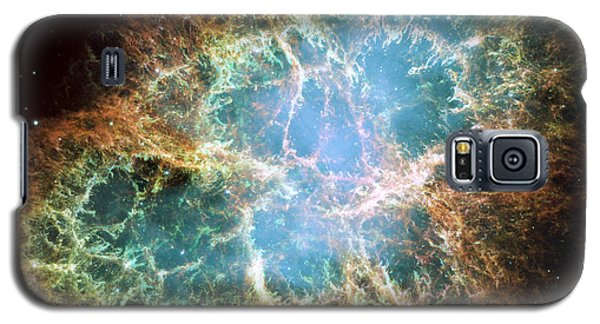 Most Detailed Image Of The Crab Nebula Galaxy S5 Case by Adam Romanowicz