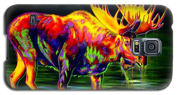 Yellow Galaxy S5 Cases - Motley Moose Galaxy S5 Case by Teshia Art