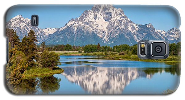 Landscapes Galaxy S5 Cases - Mount Moran on Snake River Landscape Galaxy S5 Case by Brian Harig