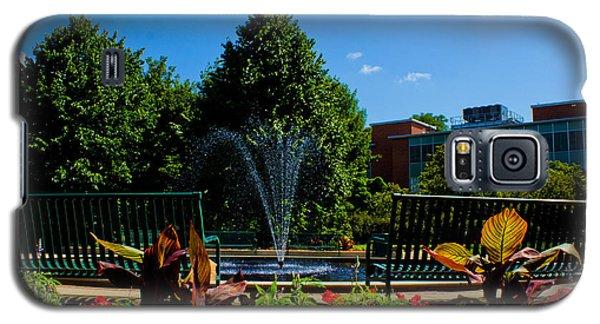 Msu Water Fountain Galaxy S5 Case by John McGraw