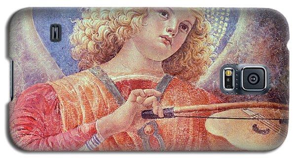 Musical Angel With Violin Galaxy S5 Case by Melozzo da Forli