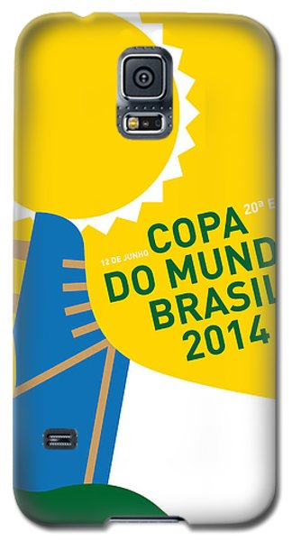 My 2014 World Cup Soccer Brazil - Rio Minimal Poster Galaxy S5 Case by Chungkong Art