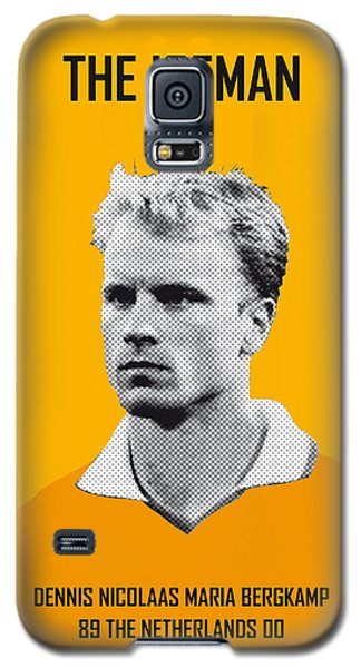 My Bergkamp Soccer Legend Poster Galaxy S5 Case by Chungkong Art