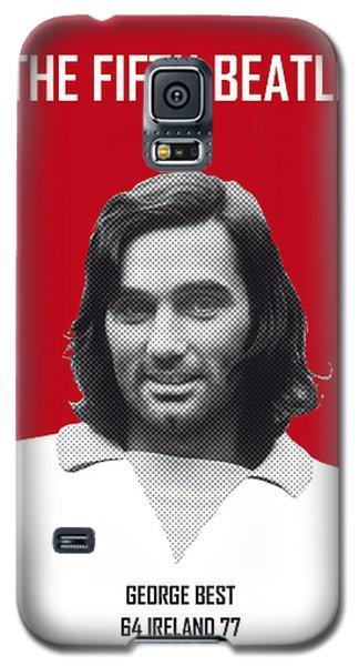My Best Soccer Legend Poster Galaxy S5 Case by Chungkong Art