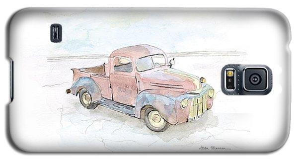 My Favorite Truck Galaxy S5 Case by Joan Sharron