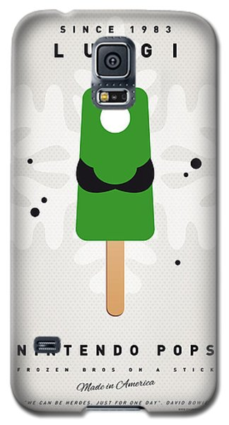 My Nintendo Ice Pop - Luigi Galaxy S5 Case by Chungkong Art