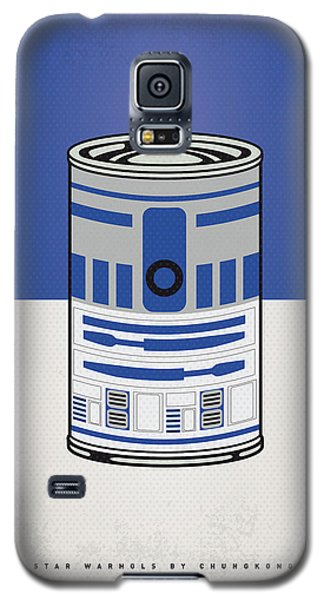 My Star Warhols R2d2 Minimal Can Poster Galaxy S5 Case by Chungkong Art