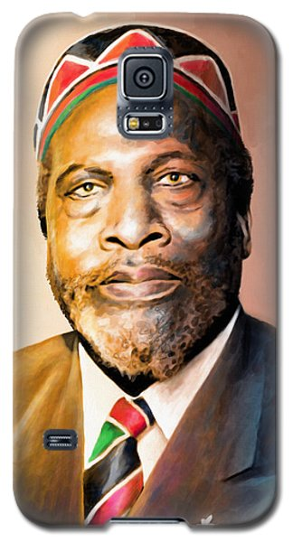 Mzee Jomo Kenyatta Galaxy S5 Case by Anthony Mwangi