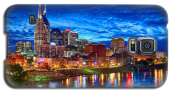 Nashville Skyline Galaxy S5 Case by Dan Holland