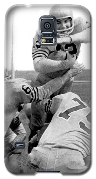 Navy Quarterback Staubach Galaxy S5 Case by Underwood Archives