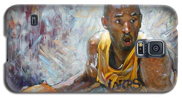 Nba Lakers Kobe Black Mamba Galaxy S5 Case by Ylli Haruni