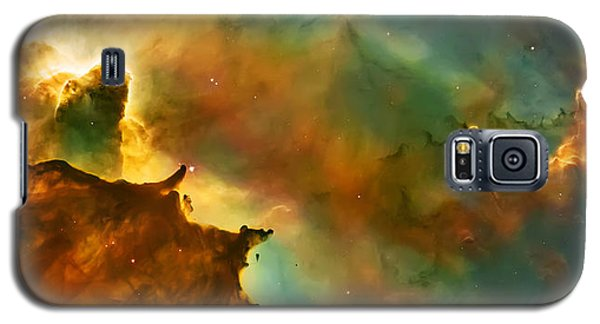 Nebula Cloud Galaxy S5 Case by The  Vault - Jennifer Rondinelli Reilly