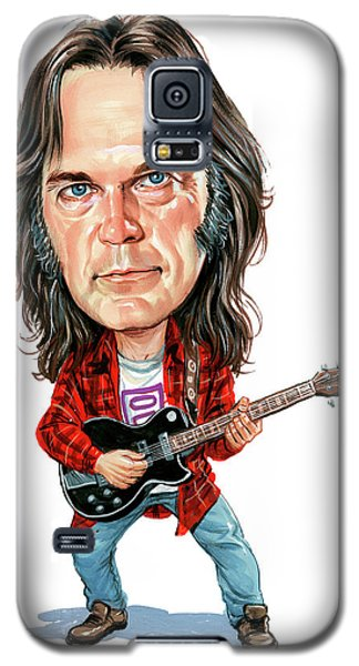 Neil Young Galaxy S5 Case by Art