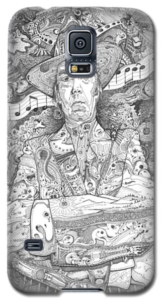 Neil Young Lives Music Galaxy S5 Case by Lance Graves
