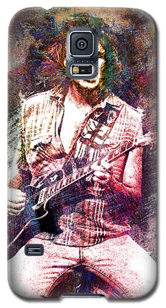 Neil Young Original Painting Print Galaxy S5 Case by Ryan Rock Artist