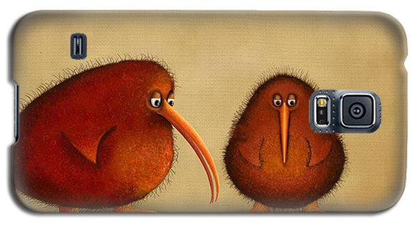 New Arrival. Kiwi Bird - Sweet As - Boy Galaxy S5 Case by Marlene Watson