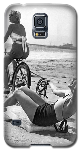 New Sport Of Ice Planing Galaxy S5 Case by Underwood Archives