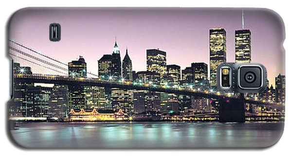 Skylines Galaxy S5 Cases - New York City Skyline Galaxy S5 Case by Jon Neidert