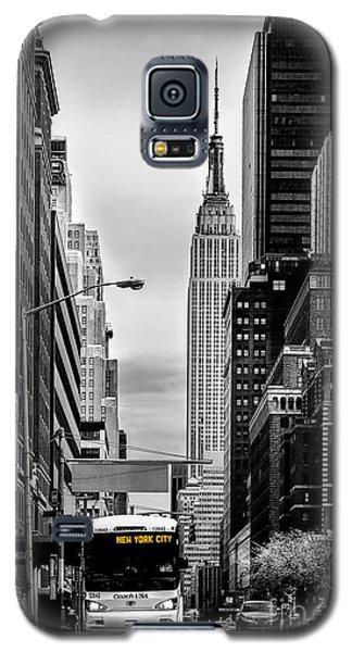 New York Express Galaxy S5 Case by Az Jackson