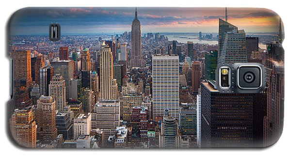 New York New York Galaxy S5 Case by Inge Johnsson