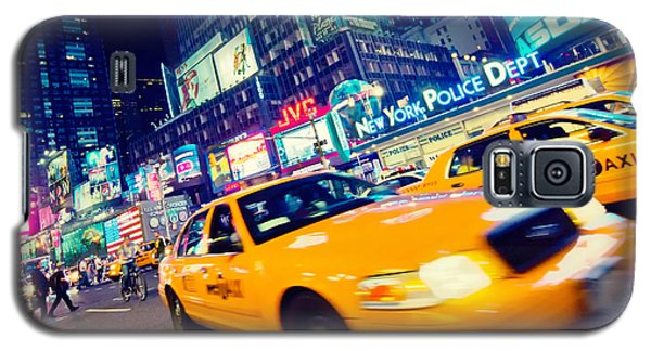 New York - Times Square Galaxy S5 Case by Alexander Voss