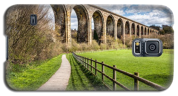 Landscapes Galaxy S5 Cases - Newbridge Viaduct Galaxy S5 Case by Adrian Evans