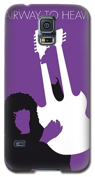 No011 My Led Zeppelin Minimal Music Poster Galaxy S5 Case by Chungkong Art