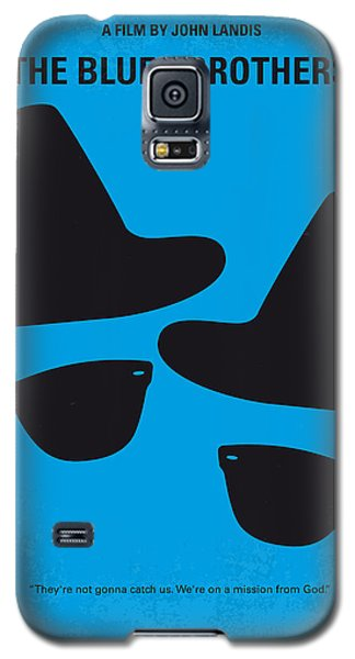 No012 My Blues Brother Minimal Movie Poster Galaxy S5 Case by Chungkong Art