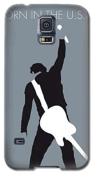 No017 My Bruce Springsteen Minimal Music Poster Galaxy S5 Case by Chungkong Art