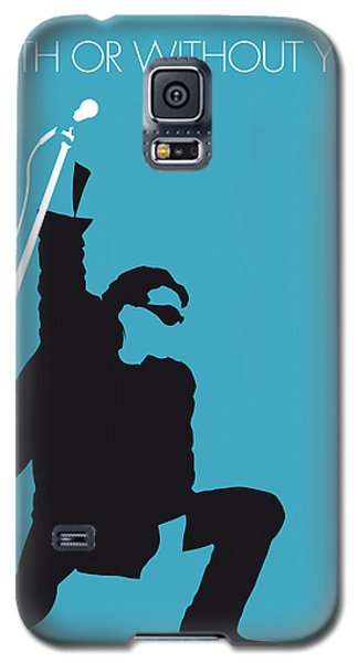 No035 My U2 Minimal Music Poster Galaxy S5 Case by Chungkong Art
