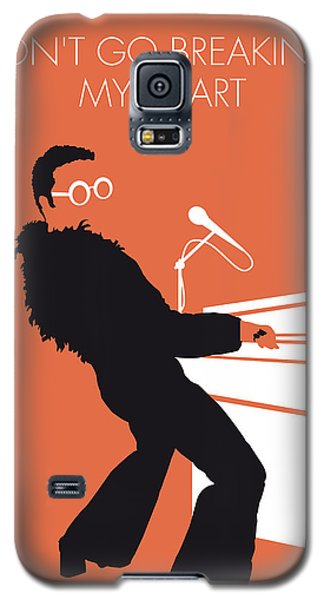 No053 My Elton John Minimal Music Poster Galaxy S5 Case by Chungkong Art