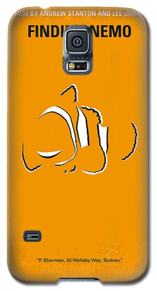 Animals Galaxy S5 Cases - No054 My nemo minimal movie poster Galaxy S5 Case by Chungkong Art