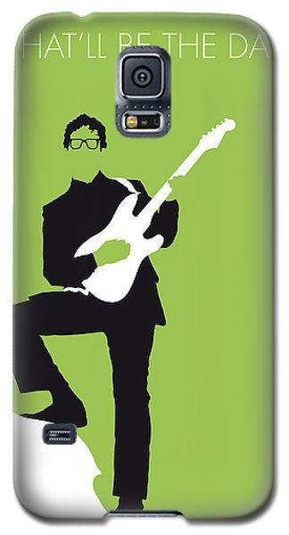 No056 My Buddy Holly Minimal Music Poster Galaxy S5 Case by Chungkong Art