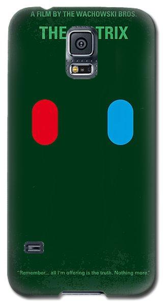 No117 My Matrix Minimal Movie Poster Galaxy S5 Case by Chungkong Art