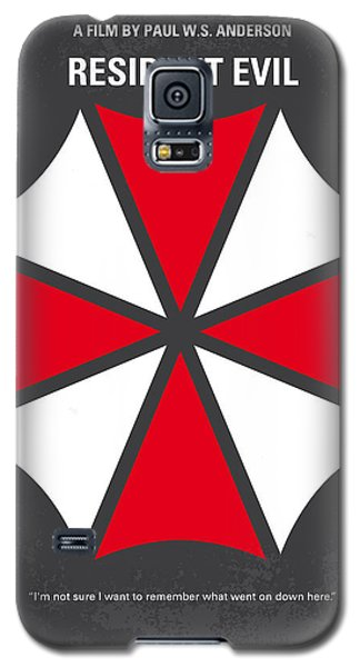 No119 My Resident Evil Minimal Movie Poster Galaxy S5 Case by Chungkong Art