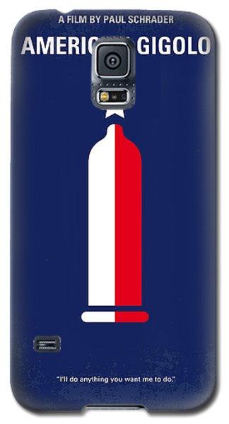 No150 My American Gigolo Minimal Movie Poster Galaxy S5 Case by Chungkong Art