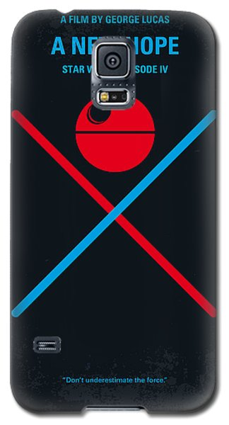 No154 My Star Wars Episode Iv A New Hope Minimal Movie Poster Galaxy S5 Case by Chungkong Art