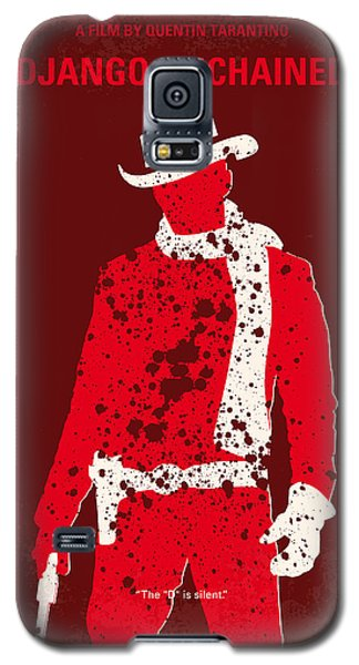 No184 My Django Unchained Minimal Movie Poster Galaxy S5 Case by Chungkong Art