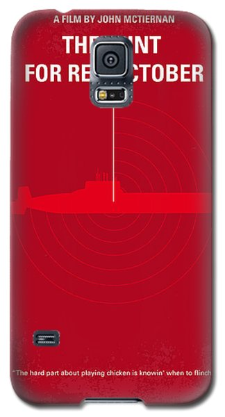 No198 My The Hunt For Red October Minimal Movie Poster Galaxy S5 Case by Chungkong Art