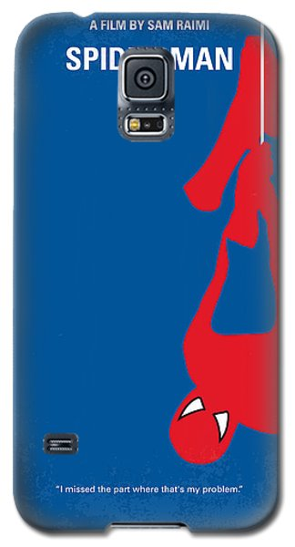 No201 My Spiderman Minimal Movie Poster Galaxy S5 Case by Chungkong Art