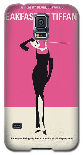 No204 My Breakfast At Tiffanys Minimal Movie Poster Galaxy S5 Case by Chungkong Art