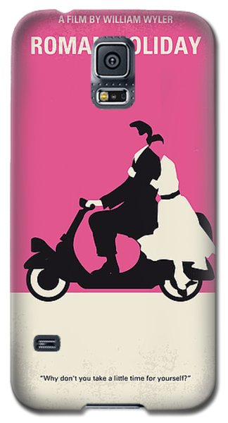 No205 My Roman Holiday Minimal Movie Poster Galaxy S5 Case by Chungkong Art