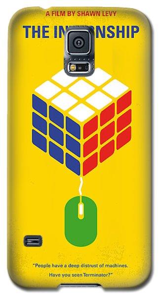 No215 My The Internship Minimal Movie Poster Galaxy S5 Case by Chungkong Art