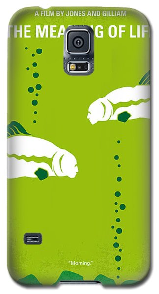 No226 My The Meaning Of Life Minimal Movie Poster Galaxy S5 Case by Chungkong Art