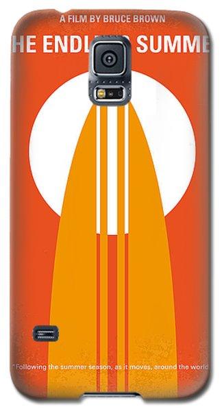 No274 My The Endless Summer Minimal Movie Poster Galaxy S5 Case by Chungkong Art
