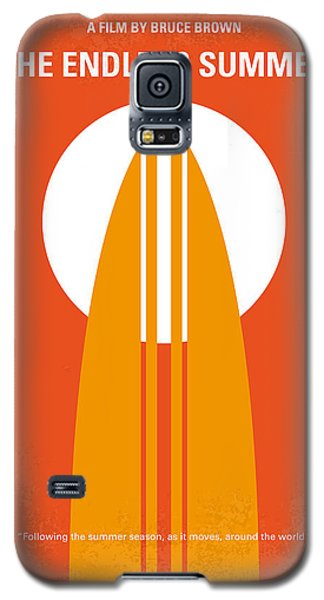 No274 My The Endless Summer Minimal Movie Poster Galaxy S5 Case by Chungkong Art
