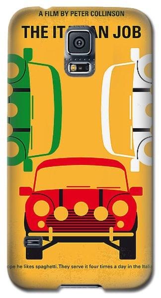 No279 My The Italian Job Minimal Movie Poster Galaxy S5 Case by Chungkong Art