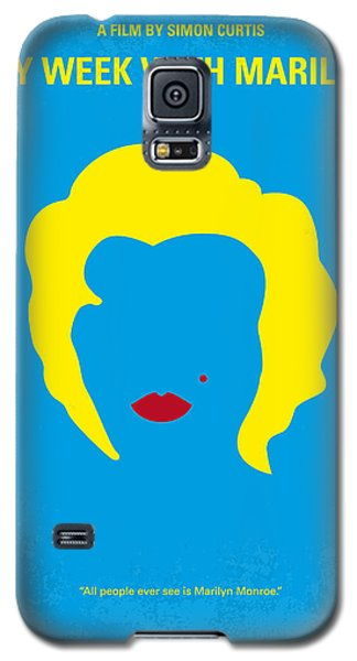 No284 My Week With Marilyn Minimal Movie Poster Galaxy S5 Case by Chungkong Art
