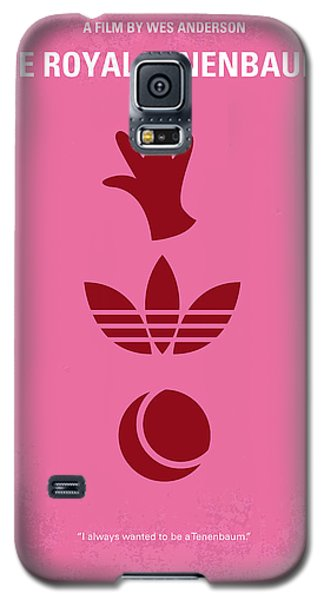 No320 My The Royal Tenenbaums Minimal Movie Poster Galaxy S5 Case by Chungkong Art